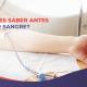 ¿Qué debes saber antes para donar sangre?