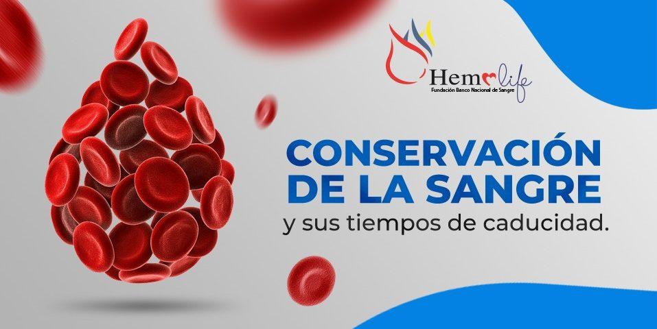 Conservación de la sangre. Hemolife